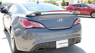 2016 Hyundai Genesis Coupe 3.8 Ultimate смотреть