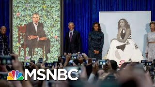 Trump's New Effort To 'Erase' Obamas Is Backfiring, Says Obama Portrait Artist | MSNBC