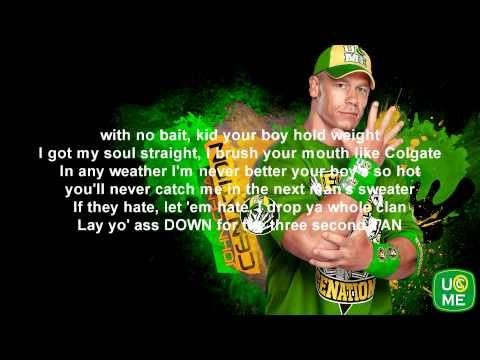 WWE John Cena Theme Song With Lyrics