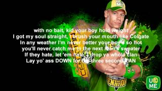 WWE John Cena Theme Song With Lyrics