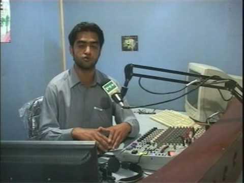 Peace Radio FM 105 start transmission for IDP at Mardan