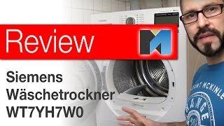 Review: Siemens IQ800 Wärmepumpentrockner WT7YH7W0 [german]