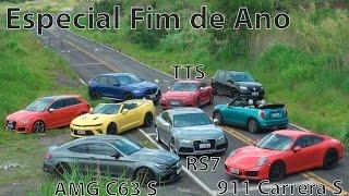 Especial Fim de Ano   Porsche 911  AMG C63 S     RS7   TTS   Canal Top Speed