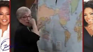 Anti-Racism Activist Jane Elliot Speaks On The World Map And How It Perpetuates Racism!