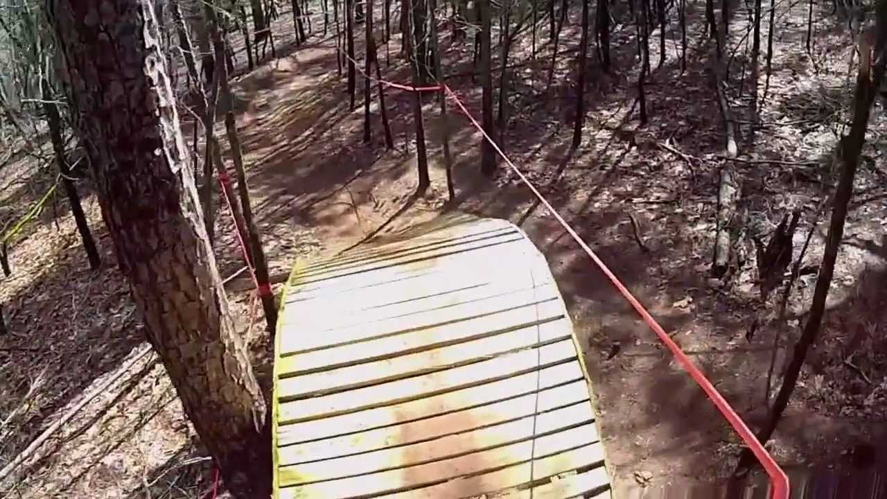 Mountain Biking At Issaqueena Trailhead Clemson Southcarolina