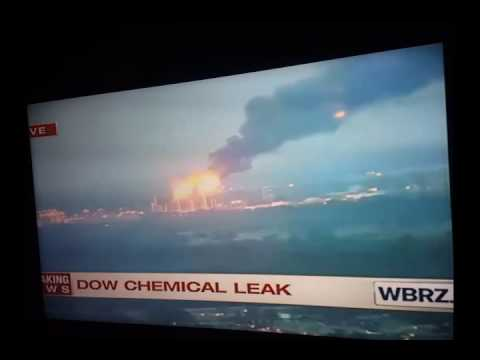 Breaking News: Dow Chemical Plant Leak Baton Rouge, LA