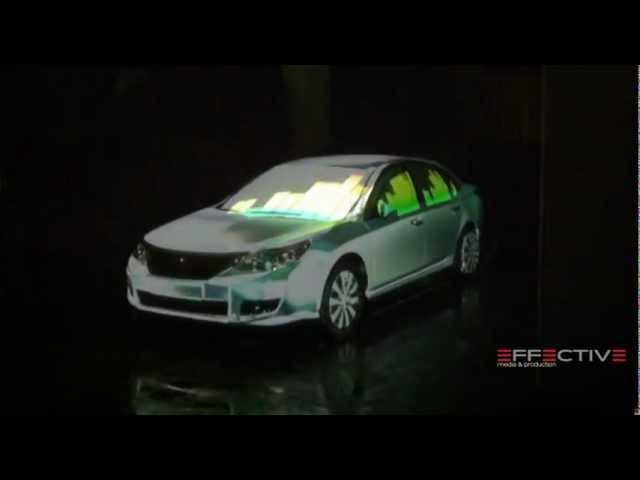 Renault 3D Car Mapping test