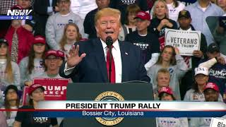FULL RALLY: President Trump in Bossier City, Louisiana
