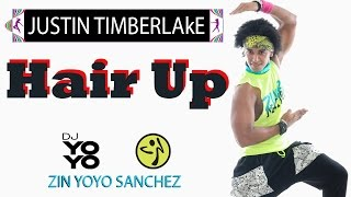 Justin Timberlake Hair Up Zumba ® Fitness by (Zin Yoyo Sanchez)