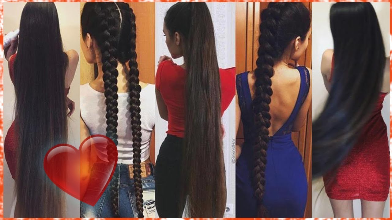 extremely long hair | super long hair girls on instagram 😍 #2