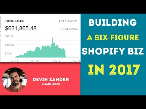 How To Build A Six Figure Shopify Business In 2017