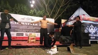 Pefomance Mr.Buyung Magician and Mr.Ksatria Bontot @MagicBattle Citraland 2017