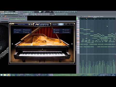 Silent Night - Kevin Kern - Addictive Keys Studio Grand ...