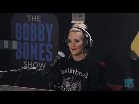 Carrie Underwood Stops By Bobby Bones Show For First Interview Since Return