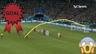 gol de Juan Fernando Quintero ante Japón