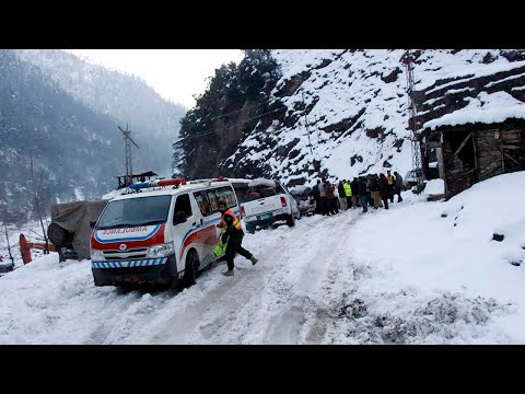 Avalanches kill dozens in Pakistan-administered Kashmir