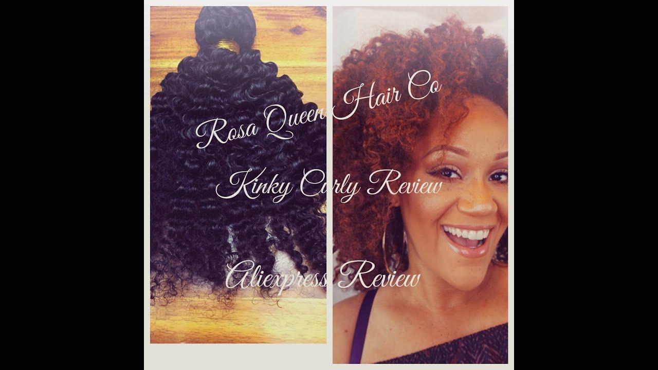 Brazilian Virgin Human Hair 3B 3C Kinky Curly Hair Weave 3
