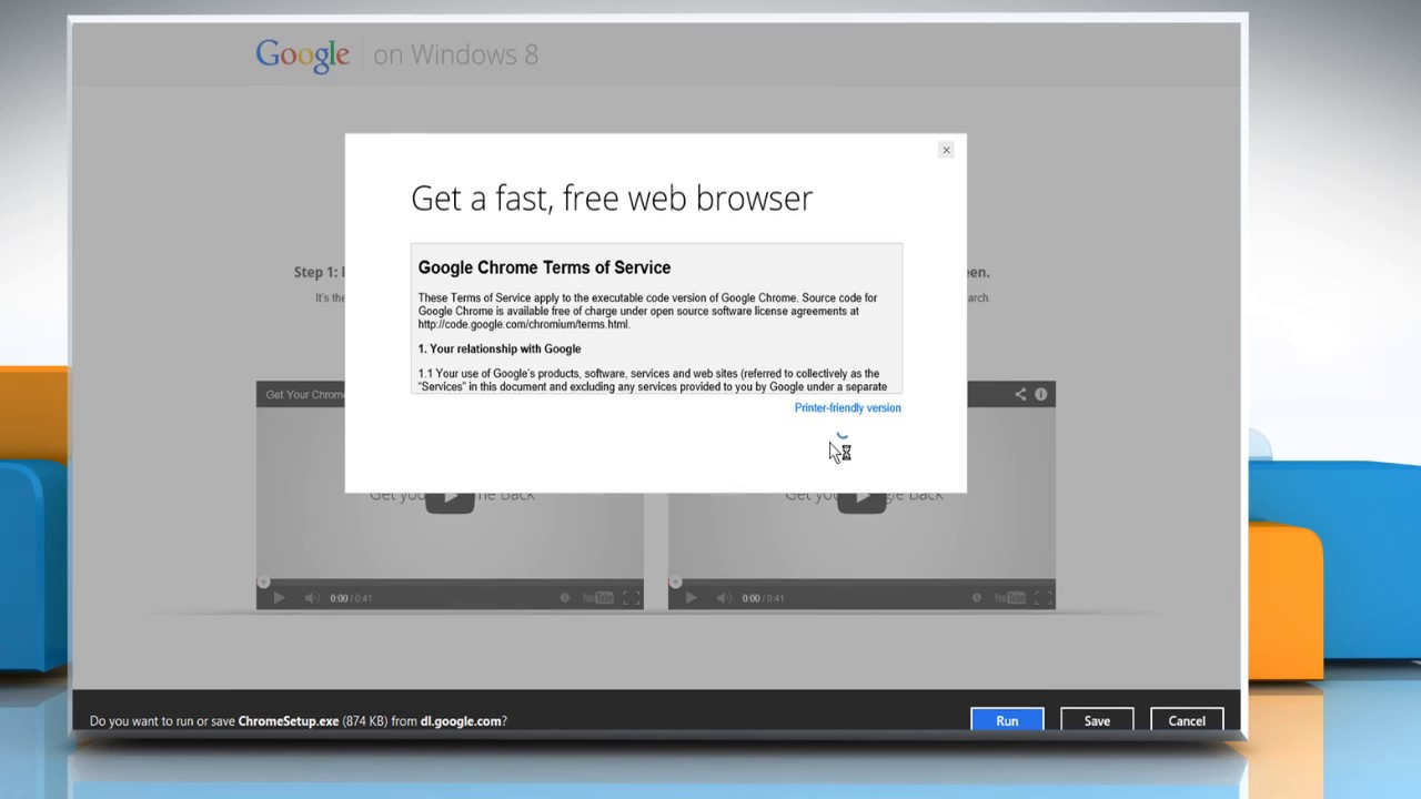 google chrome for 8.1 download