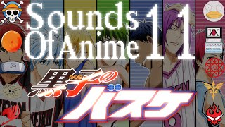 Sounds of Anime 11: Kuroko no Basuke ~ Misdirection ~