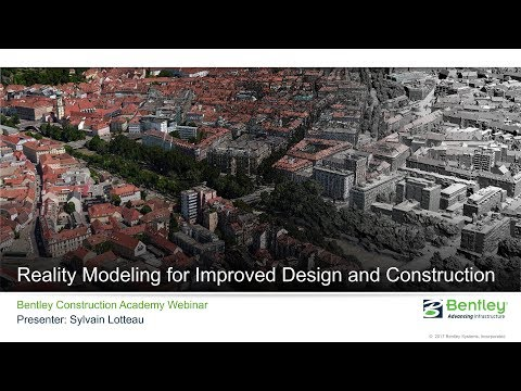 Tech Talk: Reality Modeling for Improved Design and Construction