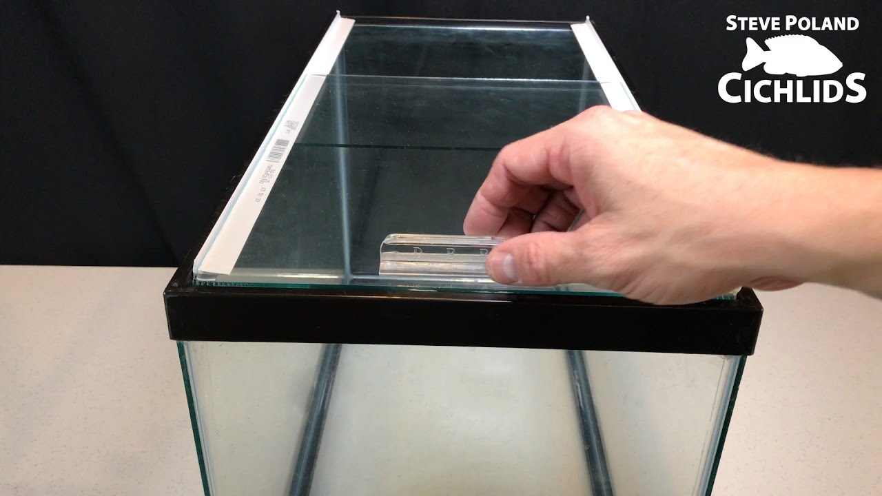 How to make sliding glass aquarium lids youtube How can i cut glass at home
