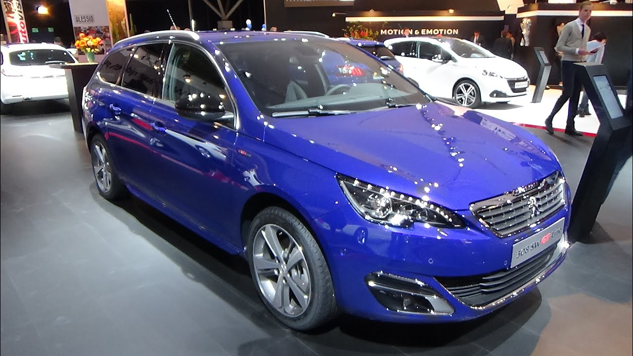 2016 peugeot 308 sw gt line exterior and interior auto show autorai amsterdam 2015 youtube. Black Bedroom Furniture Sets. Home Design Ideas