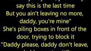 Repeat youtube video Eminem - When I'm Gone (lyrics) HD
