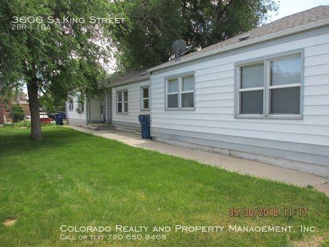 Sheridan Unit Rentals 2BR/1BA By Denver Property Management