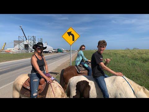 Live Horseback Tour Of SpaceX Boca Chica