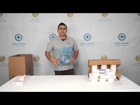 Unboxing of APEC Ultimate Reverse Osmosis Drinking Water System - Installation Part 1