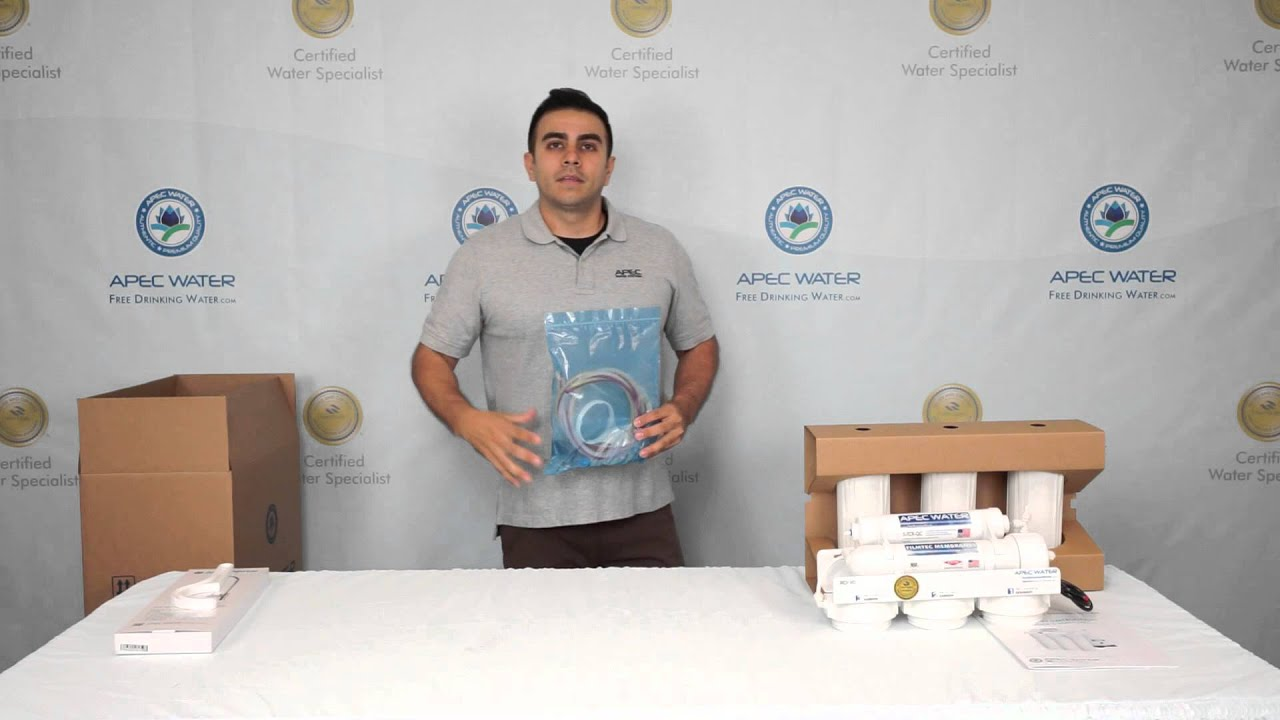 Unboxing Of Apec Ultimate Reverse Osmosis Drinking Water