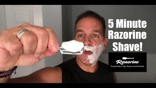 5 Minute Razorine Shave