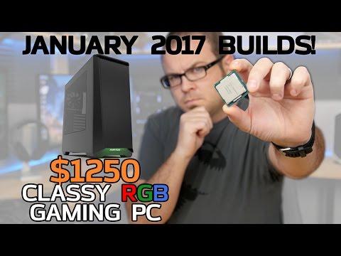 Classy Kaby Lake RGB Gaming PCs! 7700K & 7600K - Jan 2017 Builds