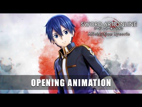 SWORD ART ONLINE Alicization Lycoris – Opening Animation