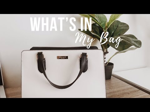 WHAT'S IN MY BAG 2019 | KATE SPADE | ORGANIZATION TIPS thumbnail