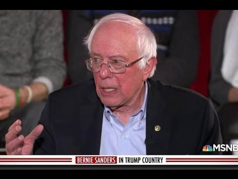 Bernie Gets West Virginia Trump Voters To Cheer His Agenda