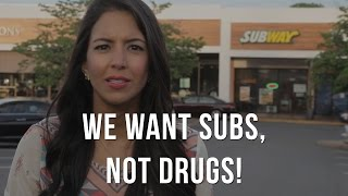 Subway: We want subs not drugs! Stop routine use of antibiotics.