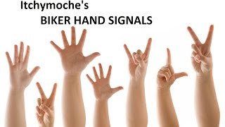 Biker For Dummies - The Hand Signals