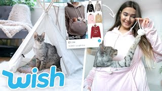 TRYING WEIRD CAT GADGETS FROM WISH!