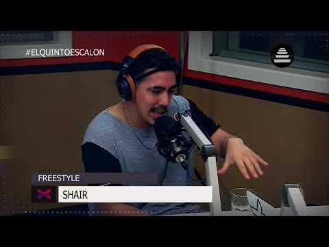 SHAIR SE TIRA UN FREESTYLE - El Quinto Escalon Radio (14/9/17)