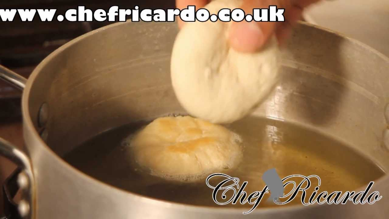 Fried dumplings recipe from jamaican chef ricardo cooking youtube forumfinder Gallery
