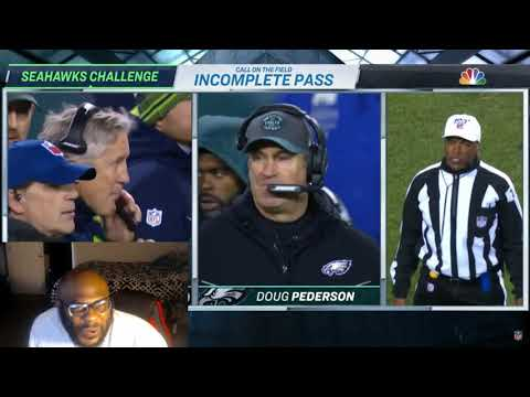 Eagles Vs Seahawks  NFC Wild Card Game Highlights Reaction