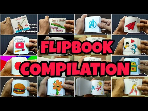 Top Flipbook Compilation | Animation Tricky Arts