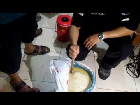 Bahan pembuat sabu di pabrik sabu rumahan di Jalan Ismaya, Cinere, Depok