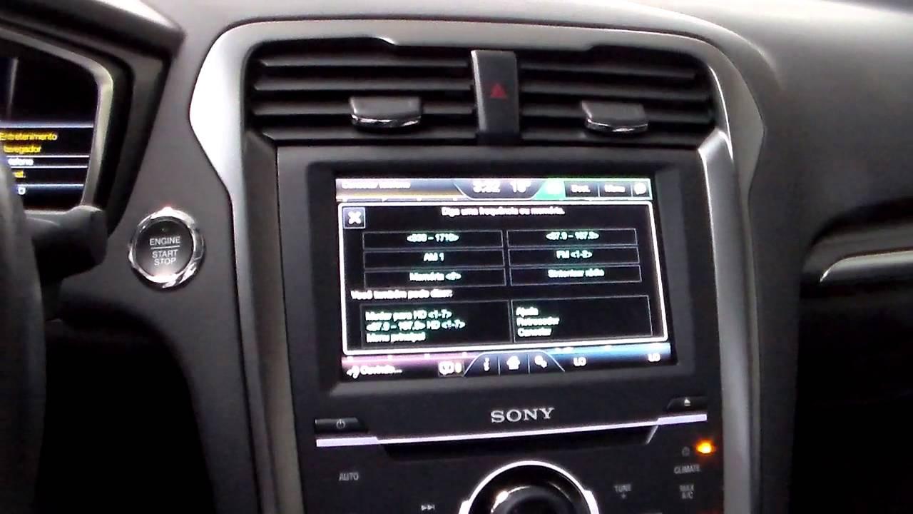 Interatividade Com O Kit Multim 237 Dia Ford Fusion Titanium