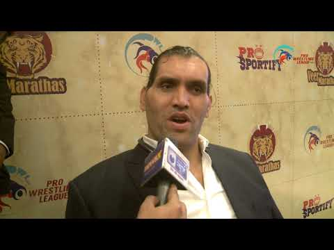 The Great Khali: PWL is bigger stage than WWE in wrestling