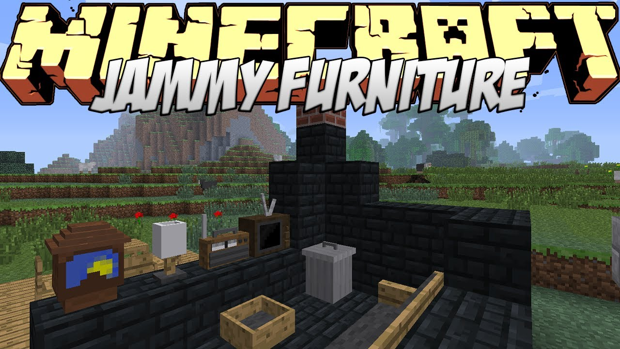 Minecraft Mods Showcase Jammy Furniture Mod 1 8 1 1 8 2 Youtube