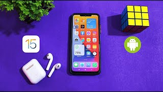 iOS 15 On Android | Change Your Device Look Like iOS 15 | Complete Setup screenshot 1