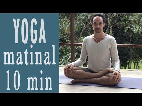Yoga em casa #1 - Yoga matinal em 10 minutos