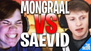 Secret Mongraal 1 VS 1 TTV Saevid In Fortnite World Cup | Fortnite Highlights